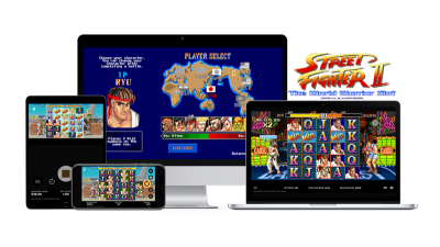 Ny spilleautomat fra NetEnt Street FIghter II