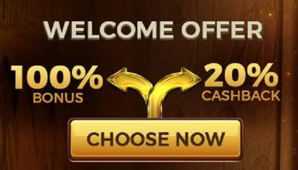 Scasino Welcome Bonus