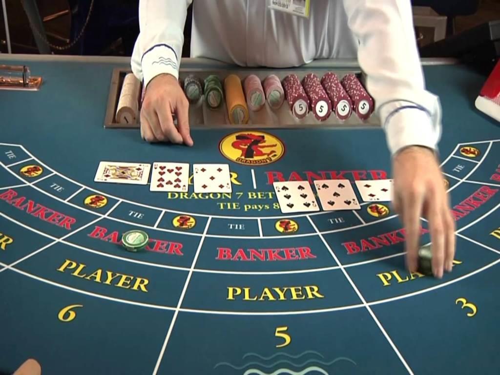Pengespill på online Baccarat