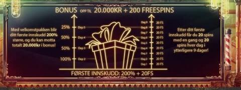 Joycasino-20000kr-velkomstbonus