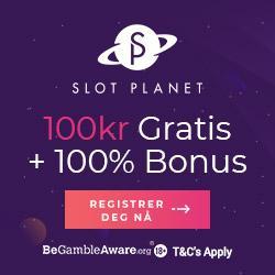 SlotsPlanet 100% Velkmostbonus